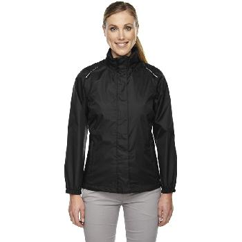 Ash City Ladies' Climate Seam-Sealed Lightweight Variegated Ripstop Jacket. 78185