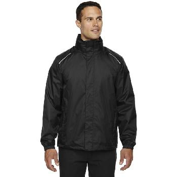 Ash City Men's Climate Seam-Sealed Lightweight Variegated Ripstop Jacket. 88185